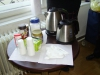 Kávé, tea és forró víz...