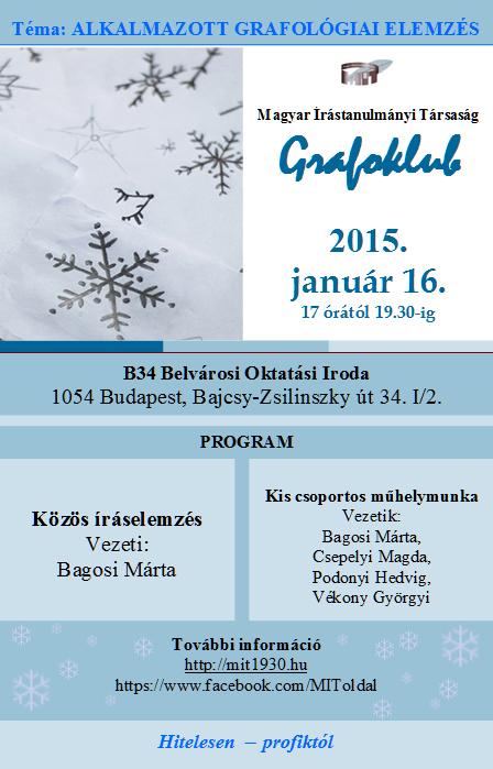 Grafoklub 2015. január