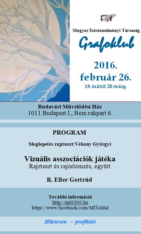 2016. 02. 26. grafoklub plakat